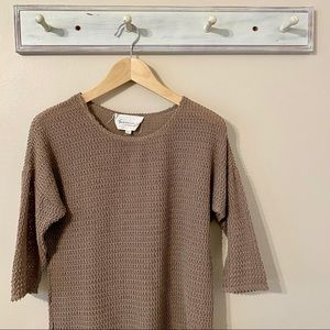 Vince Camuto Tan Sweater